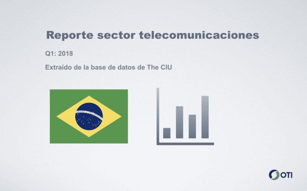 Reporte telecomunicaciones - Brasil