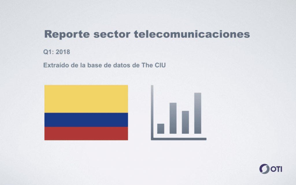 Reporte telecomunicaciones - Colombia
