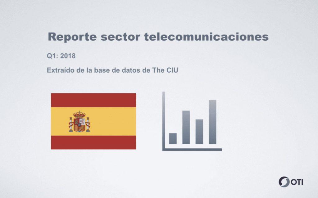 Reporte sector telecomunicaciones - España