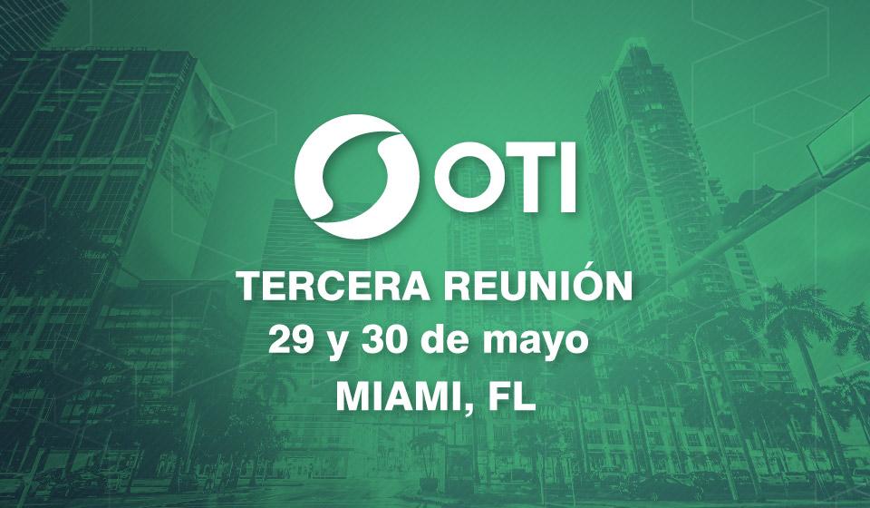 OTI 3er Reunion de miembros