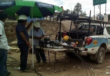 Telefónica colabora en Perú para restablecer las comunicaciones tras inundaciones
