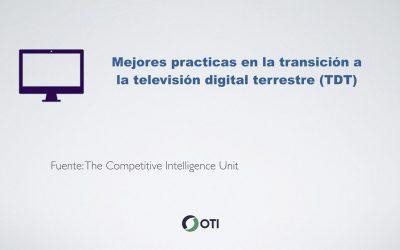 Mejores prácticas en la transición a la televisión digital terrestre (TDT)