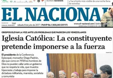 Periódico venezolano a punto de cerrar por falta de papel; piden donaciones