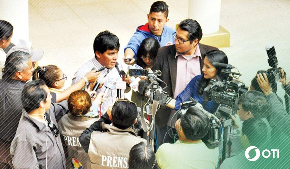 Observatorio ve vulneración a la libertad de prensa y el MAS lo niega