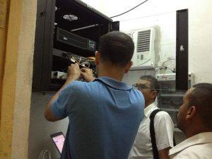 La Empresa de Telecomunicaciones en Cienfuegos amplía áreas de conectividad colectiva