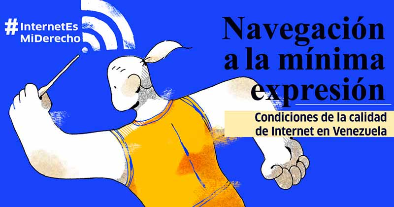IPYS considera una amenaza a la libertad de expresión la continua disminución de la velocidad de internet en Venezuela