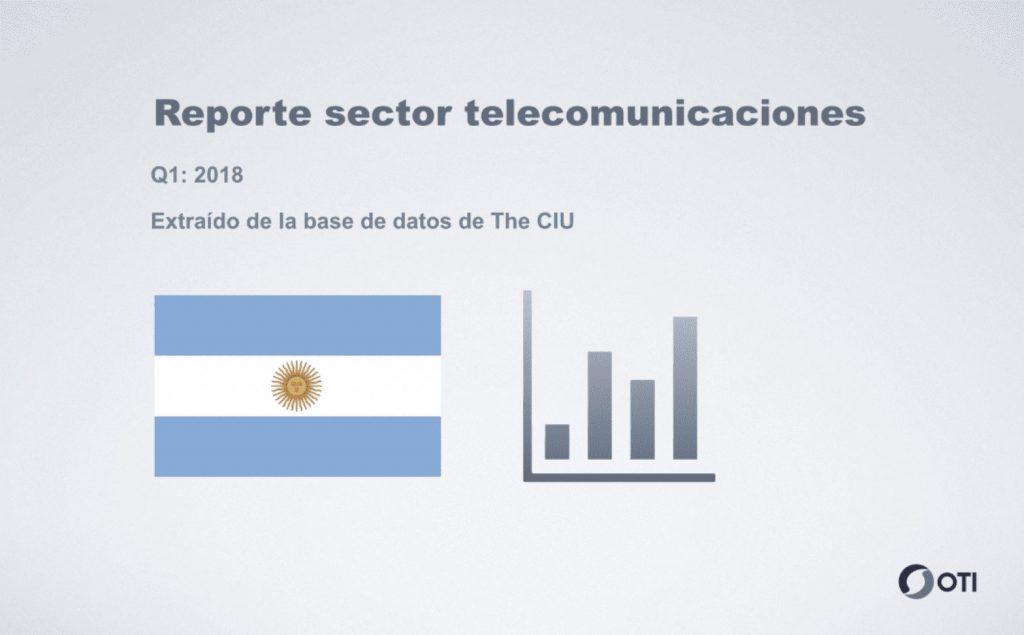 Reporte telecomunicaciones - Argentina