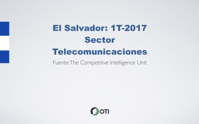 Video: El Salvador 1T-2017 Telecomunicaciones