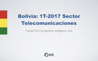 Video: Bolivia 1T-2017 Sector Telecomunicaciones
