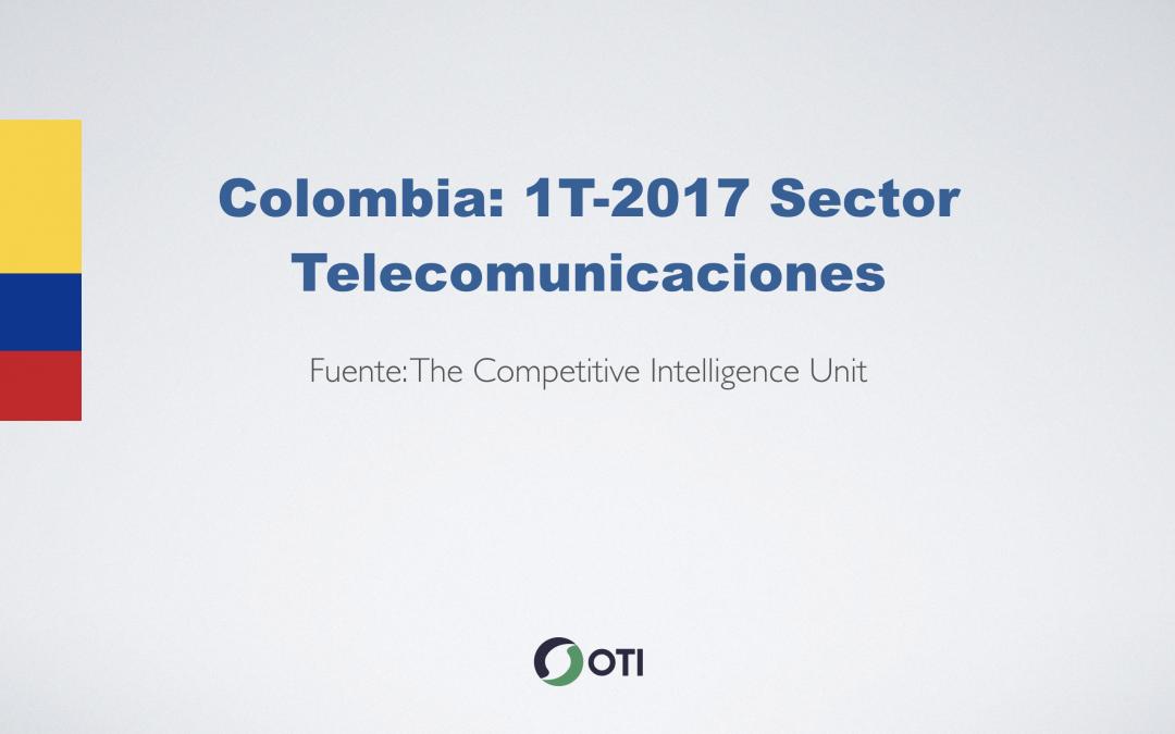 Video: Colombia 1T-2017 Telecomunicaciones