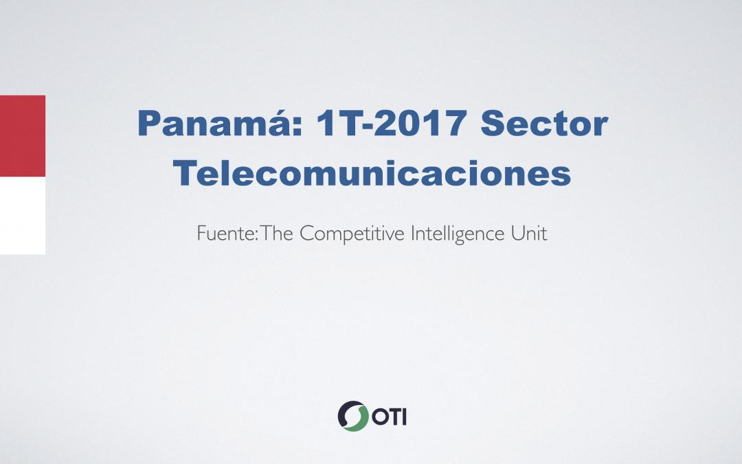 Video: Panamá 1T-2017 Telecomunicaciones