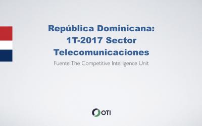 Video: Rep. Dominicana 1T-2017 Telecomunicaciones