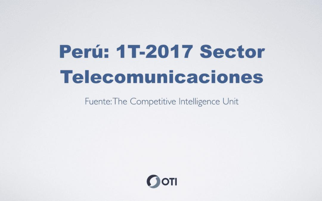 OTI Telecom – Reporte de Telecomunicaciones en Perú – 1T2017