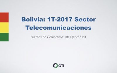 Video: Bolivia 1T-2017 Sector Telecomunicaciones
