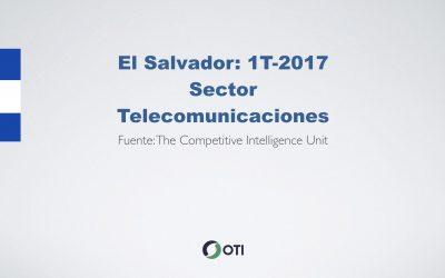 Video: El Salvador 1T-2017 Telecomunicaciones