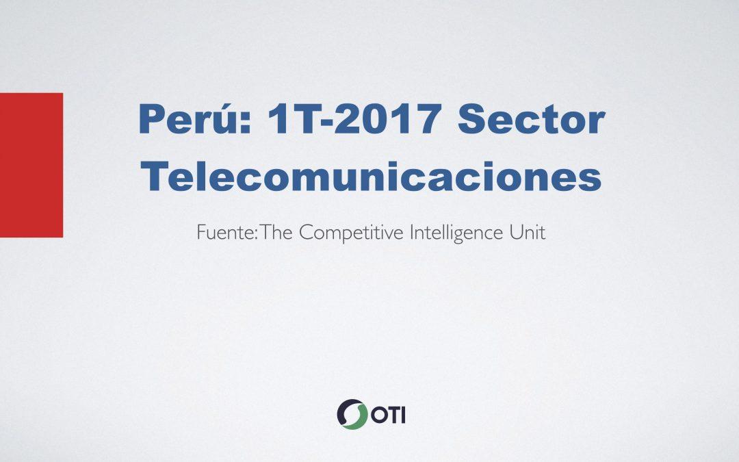 Video: Perú 1T-2017 Telecomunicaciones