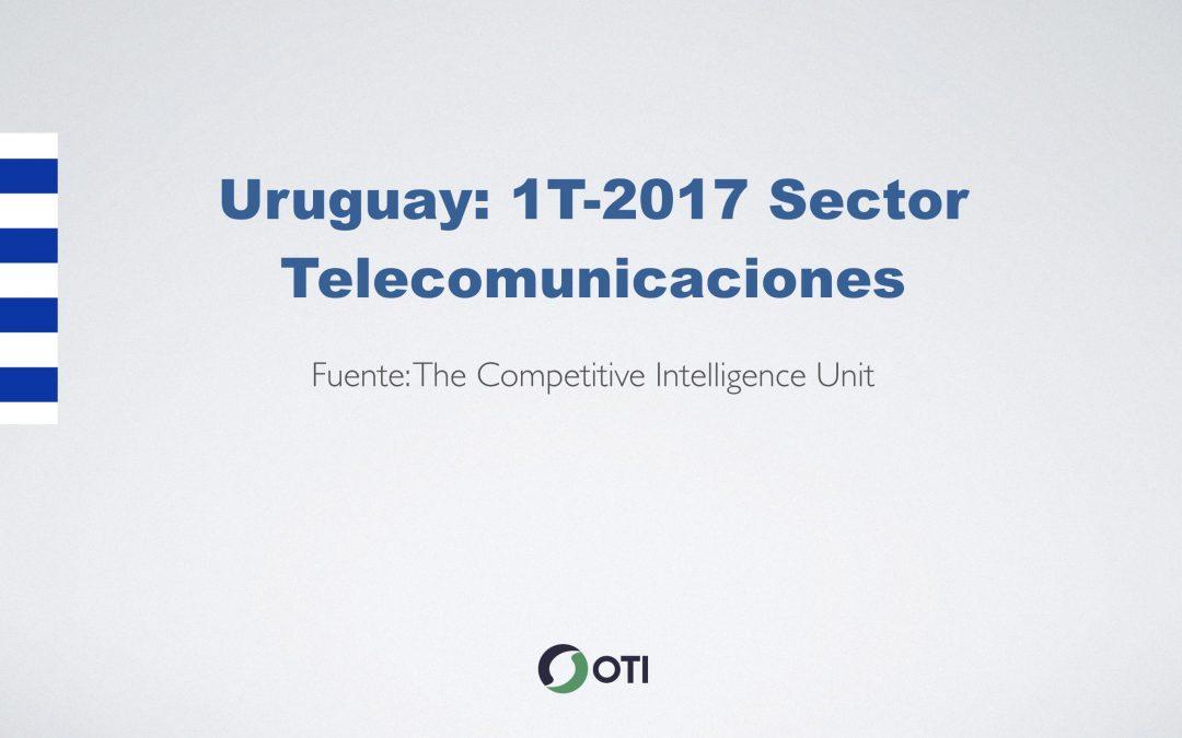 Video: Uruguay 1T-2017 Telecomunicaciones