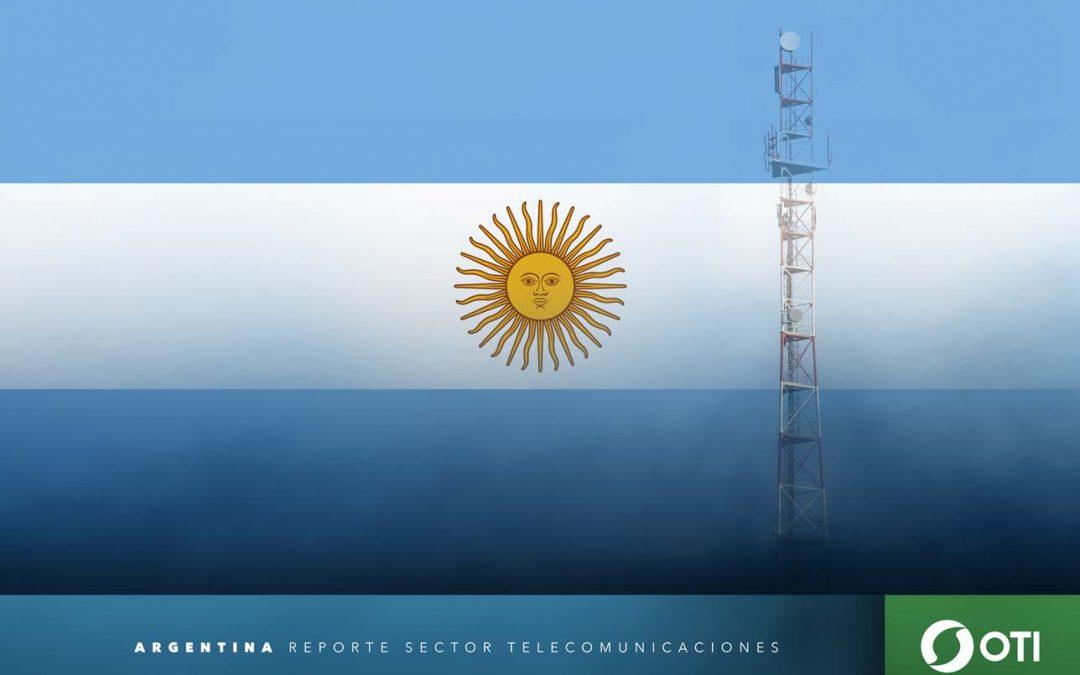 Argentina: 1Q-20 Ingresos de telefonía fija, telefonía móvil y TV restringida