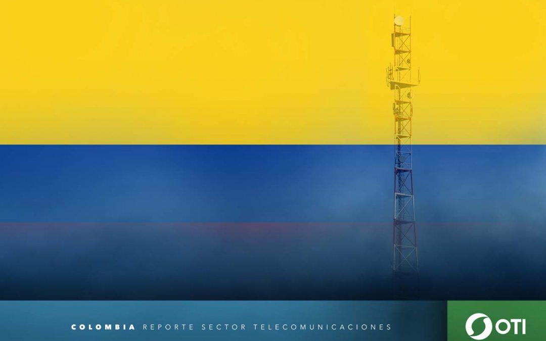 Colombia: 1Q-20 Ingresos de telefonía fija, telefonía móvil y TV restringida