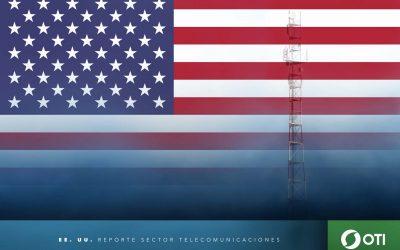 Estados Unidos: 1Q-20 Ingresos de telefonía fija, telefonía móvil y TV restringida