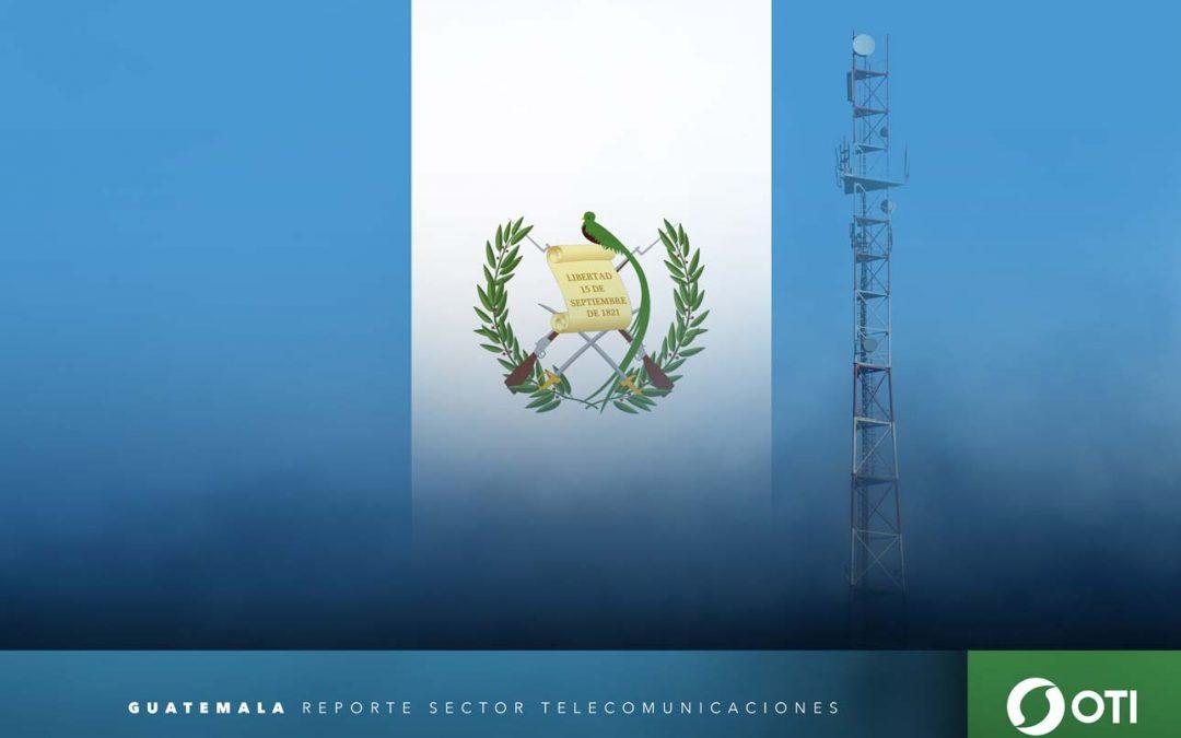 Guatemala: 1Q-20 Ingresos de telefonía fija, telefonía móvil y TV restringida