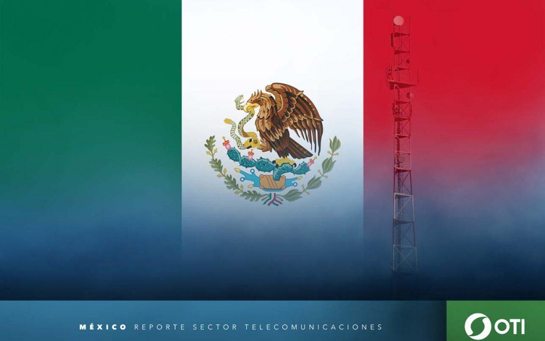 México: 1Q-20 Ingresos de telefonía fija, telefonía móvil y TV restringida