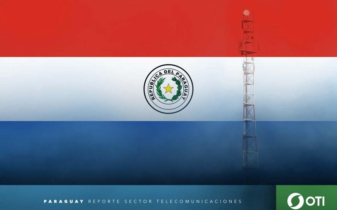 Paraguay: 1Q-20 Ingresos de telefonía fija, telefonía móvil y TV restringida