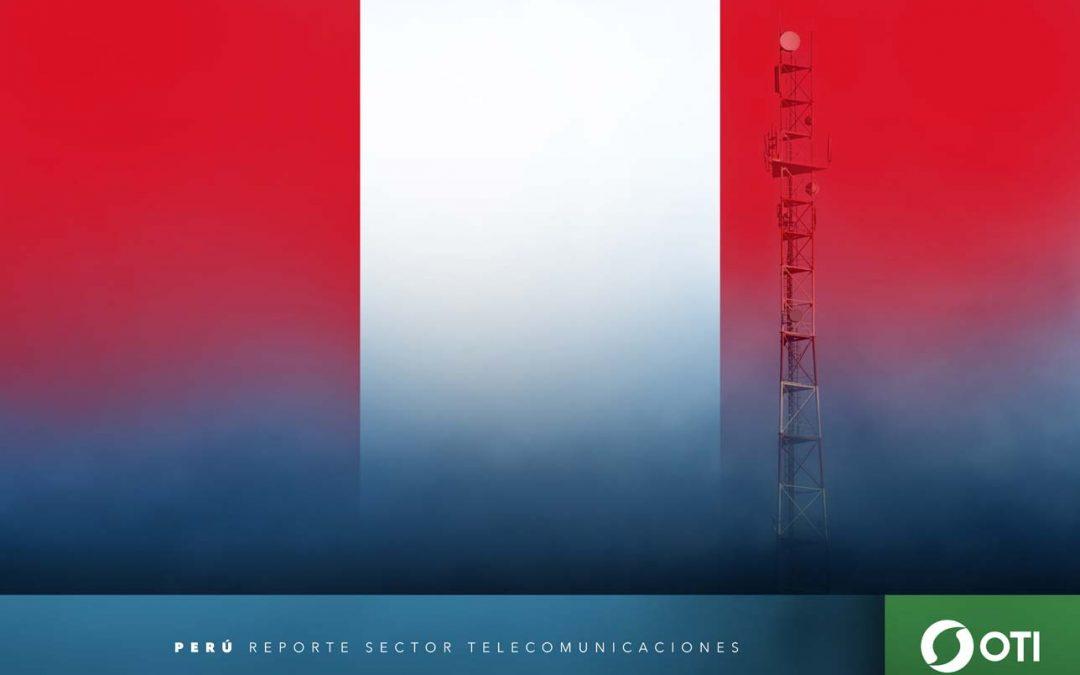Perú: 1Q-20 Ingresos de telefonía fija, telefonía móvil y TV restringida