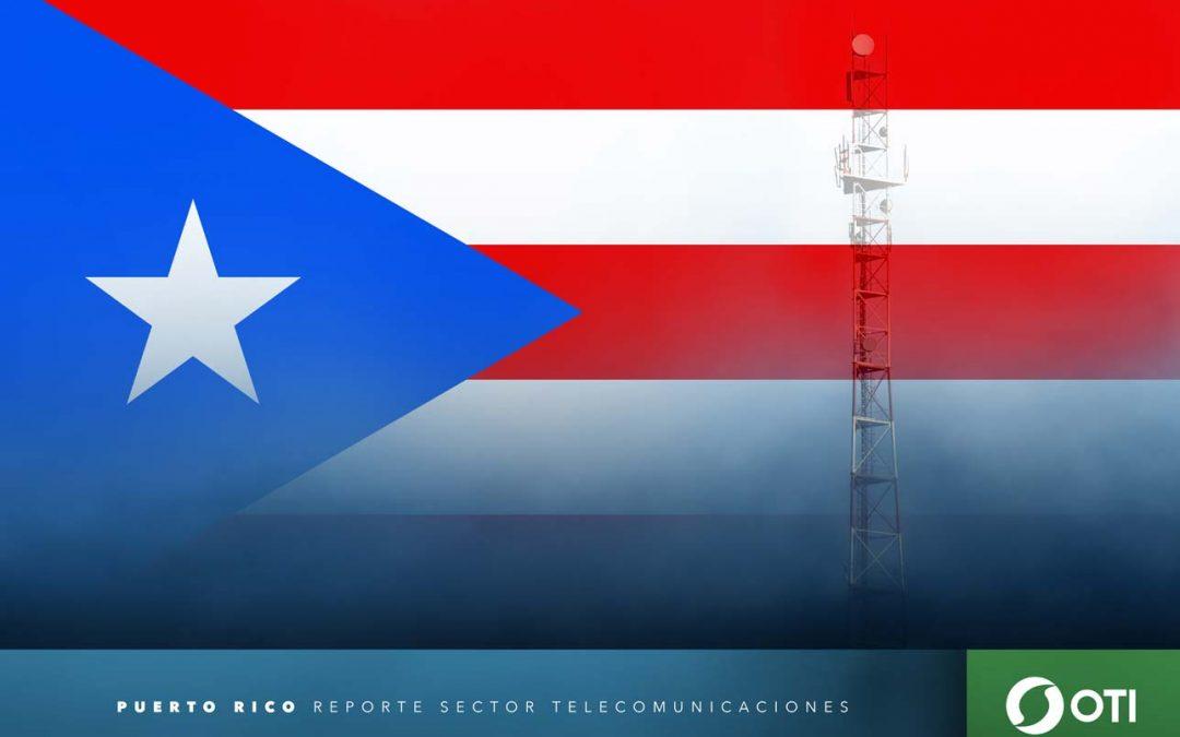 Puerto Rico: 1Q-20 Ingresos de telefonía fija, telefonía móvil y TV restringida